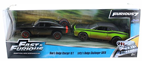 1970-dodge-charger-2008-dodge-challenger-off-road-132-jada-toys