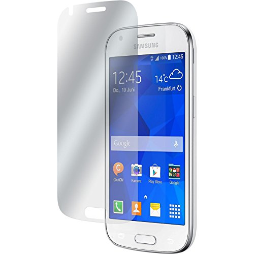 PhoneNatic 4er-Pack Bildschirmschutzfolien klar kompatibel mit Samsung Galaxy Ace 4