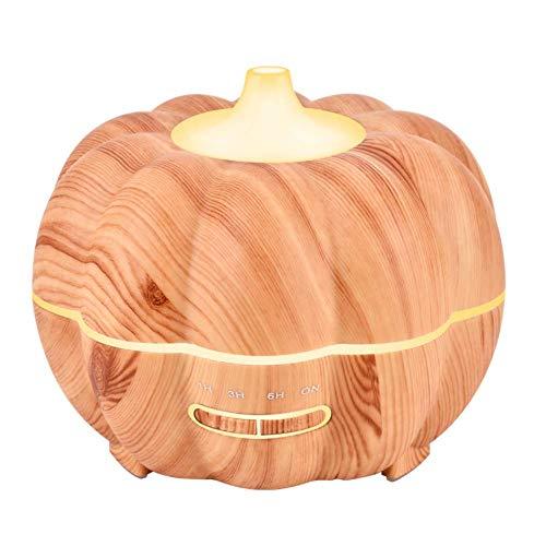 YFQH Halloween Kürbis Holz Aroma Luftbefeuchter Haushalts Ätherisches Öl Aromatherapie Maschine Ultraschall Luftbefeuchter