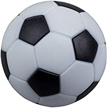 SODIAL (R) 4pcs 32mm Kunststoff Fussball