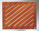 Holzrost, rechteckig, Atollo für Kabine oder Duschwanne,, wasserdicht Hat Wasser, antibakteriell und ungiftig