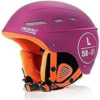 Unbekannt Schneesport Helm Ski & Snowboard/Fahrrad-Und Schlittschuh Helm,Pink,L