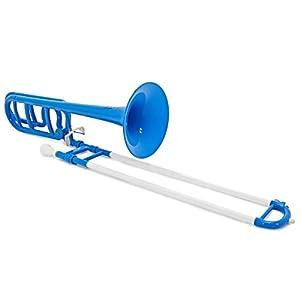 playLITE Hybrid Trombone by Gear4music Blue