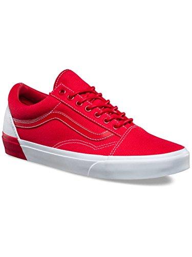 Vans Herren Sneaker Old Skool Dx Sneakers (bloccato) True White / Raci