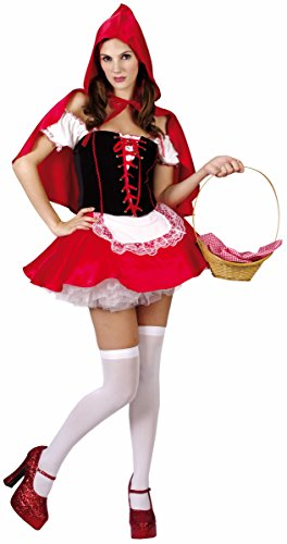 Imagen de disfraz de caperucita roja para mujer