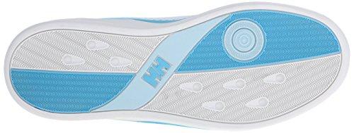 Helly Hansen W HH 5.5 M, Damen Bootsschuhe Weiß (011 OFF WHITE / LIGHT AQUA / A)