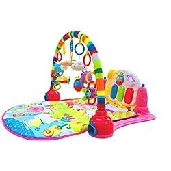 Surreal Alfombra de entretenimiento para bebé 3 en 1, con música y luces