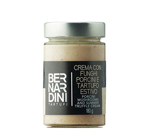 Crema al tartufo estivo e funghi porcini (Tuber aestivum Vitt.) 180gr - Bernardini Tartufi