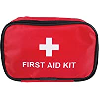 Milestone Camping First Aid Kit, Red, One Size