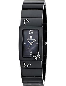Burgmeister Armbanduhr für Damen mit Analog Anzeige, Quarz-Uhr mit Metall Armband - Wasserdichte Damenuhr mit...