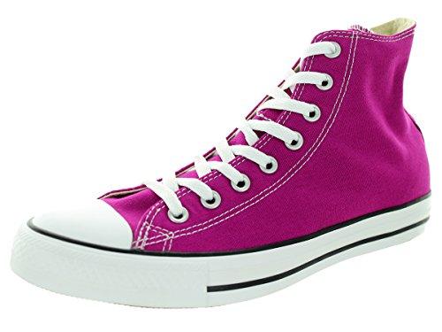 Converse Baskets femme CHUCK TAYLOR ALL STAR HI PRINT Pink Sapphire