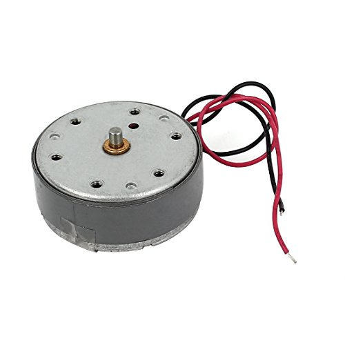 sourcing map 300RPM 4V Zylinder Elektronik Mini DC Motor m Draht für VDC DVD CD Player - Draht Cd-player