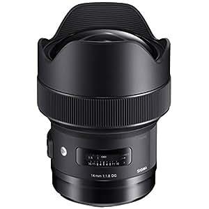 Sigma 14 mm F1.8 DG HSM Lens for Canon Camera - Black