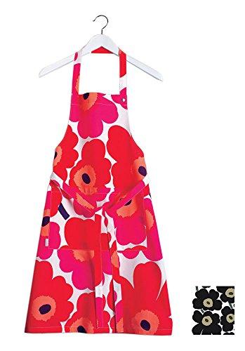 marimekko-unikko-black-apron-84-by-85-cm