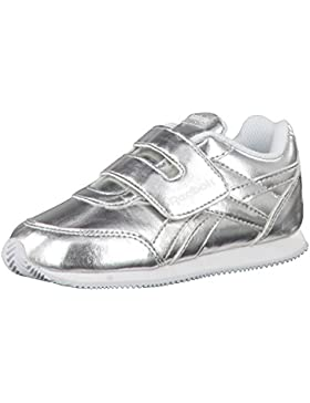 Reebok Royal Cljog 2 KC, Zapatillas de Trail Running Unisex Niño, Plateado (Silver Metallic/White 000), 26 EU