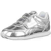 Reebok Royal CLJOG 2 KC, Zapatillas de Trail Running Unisex para Niños, Plateado (Silver Metallic/White 000), 26 EU