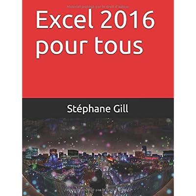 Excel 2016 pour tous