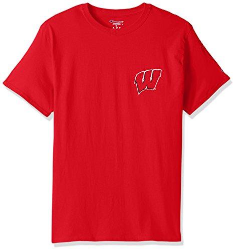 NCAA Notre Dame Fighting Irish Herren Champ Short Sleeve T-Shirt 5Navy, Herren, NCAA Men's Champ Short Sleeve T-Shirt 5, Team Color-3, Small