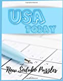 USA Today New Soduko Puzzles: Beginner Sudoku Books For Adults, Funster Activity Book for Seniors - Improve Your Barin With This Book Ideal for Math Challenge.