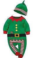 Lukis Langarm Baby Strampler Weihnachtsmann