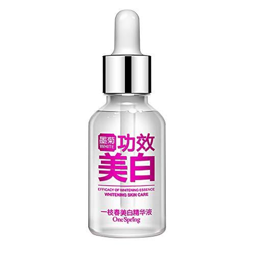 Vovotrade Essence de blanchiment de acide hyaluronique 15ML Déficience 1PC Visage Peau Crème anti-acné réparatrice Sérum raffermissant Rajeunissement cutané pur hydratant huile essentielle visage
