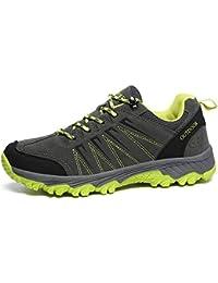 Zapatillas De Deporte para Hombre Zapatillas De Trekking Al Aire Libre Zapatos Antideslizantes, CóModos,