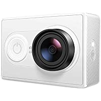 YI Caméra Sport Caméra d'action Actioncam Full HD 1080p/60fps 16 MP Objectif Ultra Grand Angle WiFi et Bluetooth Connexion - Blanc