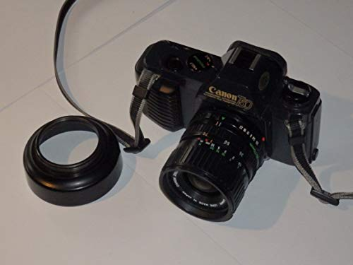 CANON T50 - analoge Spiegelreflexkamera - SLR Camera incl. Objektiv CANON Zoom Lens 35-70mm 1:3.5-4.5 - Technik Nicht geprüft - ok - by PHOTOBLITZ ##