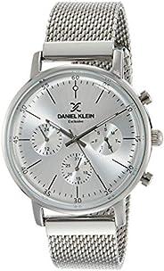 Daniel Klein Analog Silver Dial Men's Watch-DK117