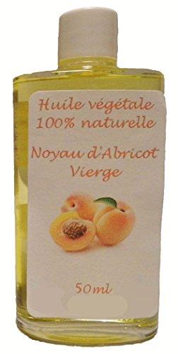 Huile végétale de Noyau d'Abricot vierge 50ml