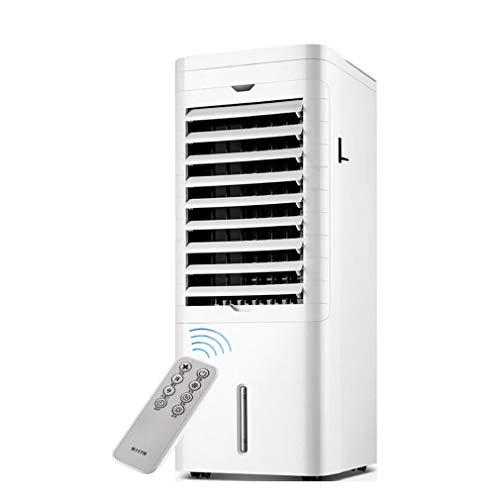 KEYUAN 4-in-1 Mobile Klimageräte Haushaltsluftkühler mit Heiz- und Lüfterfunktion, Weitwinkel-Luftversorgung 12h Timing 3 Windgeschwindigkeit Quiet kühlgeräte für räume, NFS-20CR18