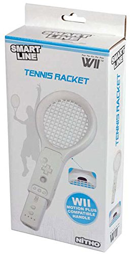 NITHO WIDH Ten Wii Impugnatura Racchetta da Tennis, Bianco