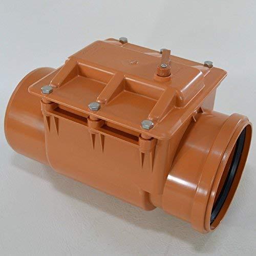 Capricorn Clapet anti-retour Fermeture kg tubes Ø 50, 75,110, 110 Double, 125,160,200 200mm