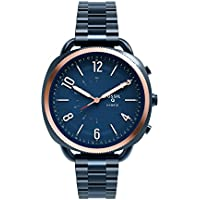 Fossil Q Accomplice Navy Blue Stainless Steel – Analogue Women's Hybrid Smartwatch Android and iOS Compatible – Bluetooth Technology - Activity and Sleep Tracking, Smartphone Notifications