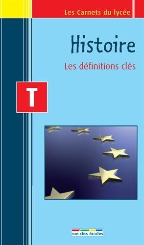 Carnet histoire Terminale : les définitions clés