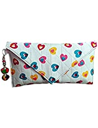 Nicedesign Designer Multi Color Floral Printed Women's Pouches,purses