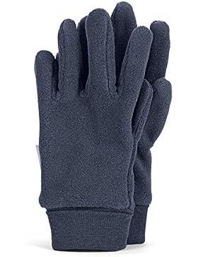 Sterntaler Fingerhandschuhe für Kinder, Grau (Anthrazit)