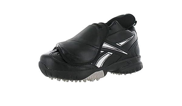 500ed0c5317 Reebok Field Magistrate II Mid Turf Baseball Umpire Plate Shoes Wide 4E  Black White  Amazon.in  Home   Kitchen