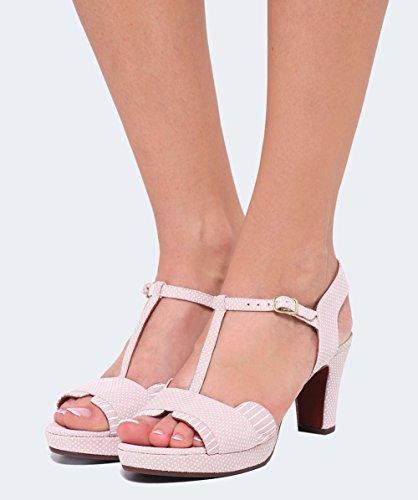 Chie Mihara Itoki, Sandales Plateforme Femme Rose