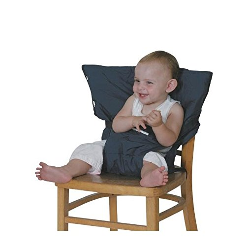 Sack'n seat, the Original Portable high chair, Safety seat chair harness, Travel high chair, Blue 41qxbRd UWL