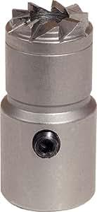 KS Tools 152.1177 Fraise plane pour siège d'injecteur Mercedes Benz Ø 17/19 mm Longueur=38 mm