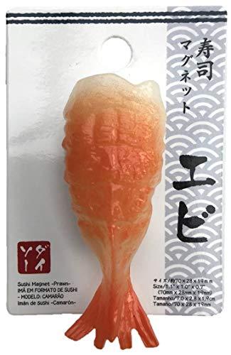 Unbekannt Japanischer Kühlschrankmagnet Nigiri Sushi - EBI (エビ)
