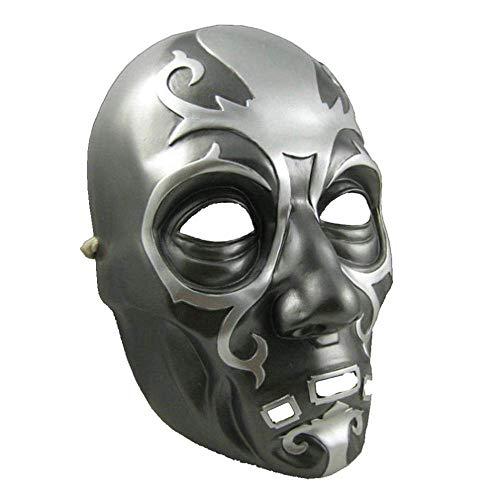QWhing Festival-Maske Harry Potter Malfoy Lucius Horror Ball Halloween High-End Resin Requisiten Kostüm Maske (Farbe : B)