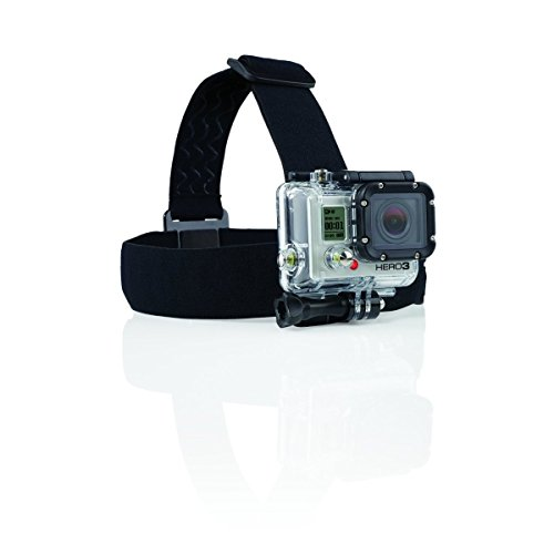 Navitech Helm / Stirnband / Kopfbandhalterung für die APEMAN C 4K WiFi Ultra HD Action Camera