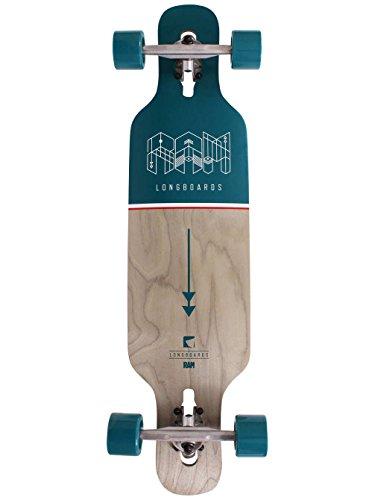 "Longboard Complete RAM Longboards Ciemah Mini 8.75"" x 36"" Complete"