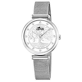 Lotus Reloj Analógico para Mujer de Cuarzo con Correa en Acero Inoxidable 18708/1