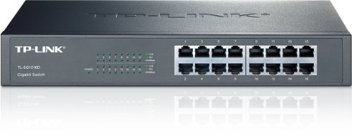 TP-Link TL-SG1016D Desktop Switch, 16 Porte RJ45...