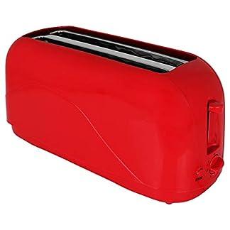 Toaster-Langschlitz-mit-Farbauswahl-4-Scheiben-Toster-Doppelschlitz-Toaster-1300-Watt