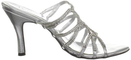 Unze Evening Sandals, Sandales femme Argent (L18539W)