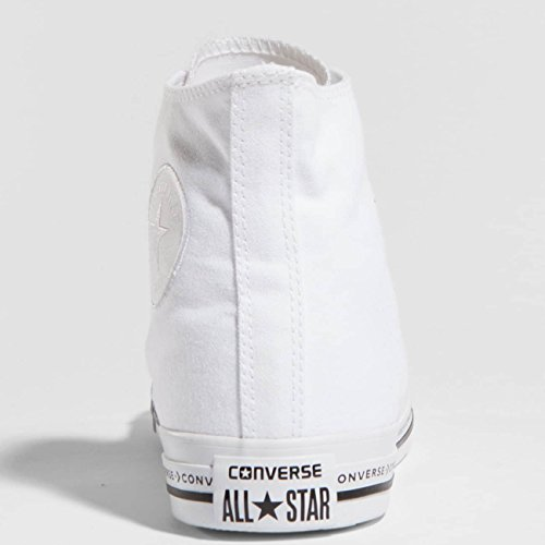 Converse Homme Chaussures/Baskets Chuck Taylor All Star Hi Blanc